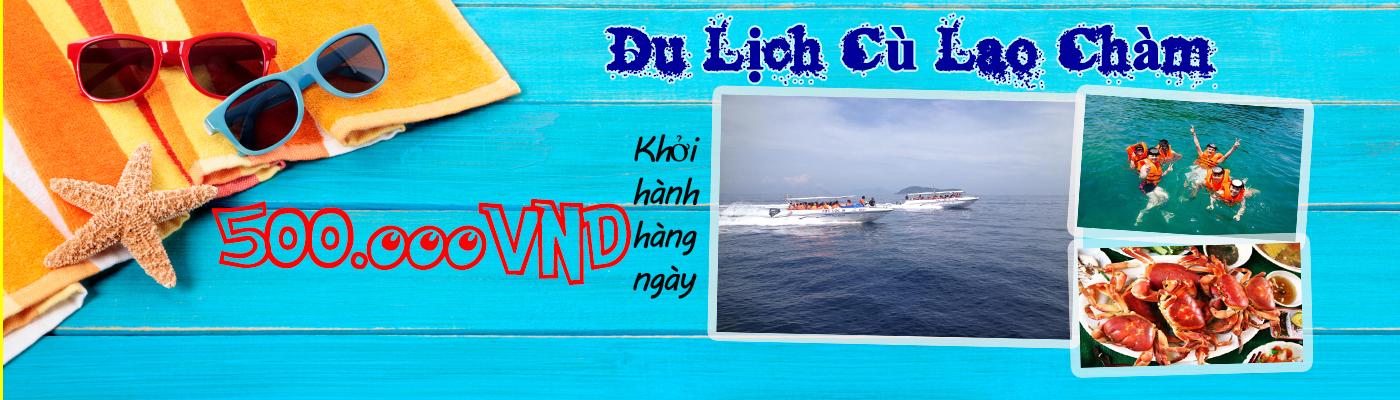 Tour du lịch Cù Lao Chàm giá rẻ